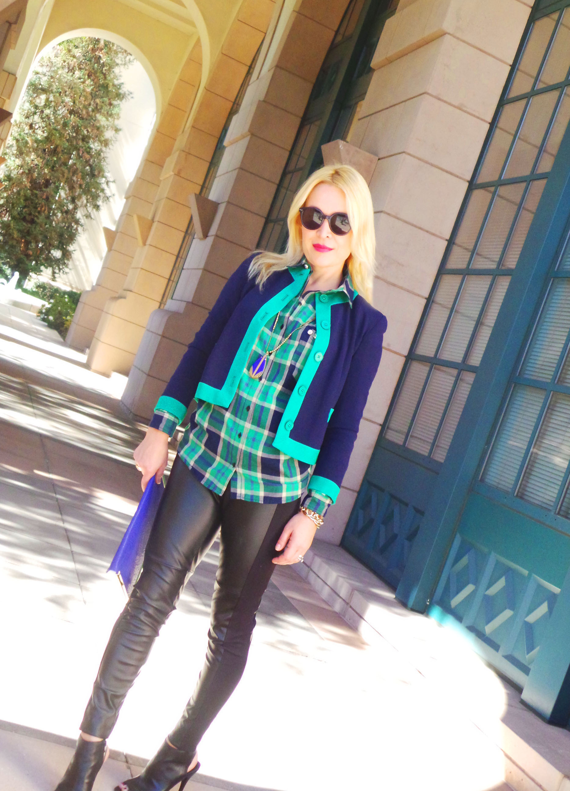 green plaid 4