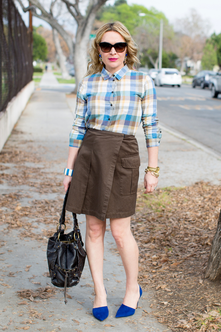 Brown and plaid 1