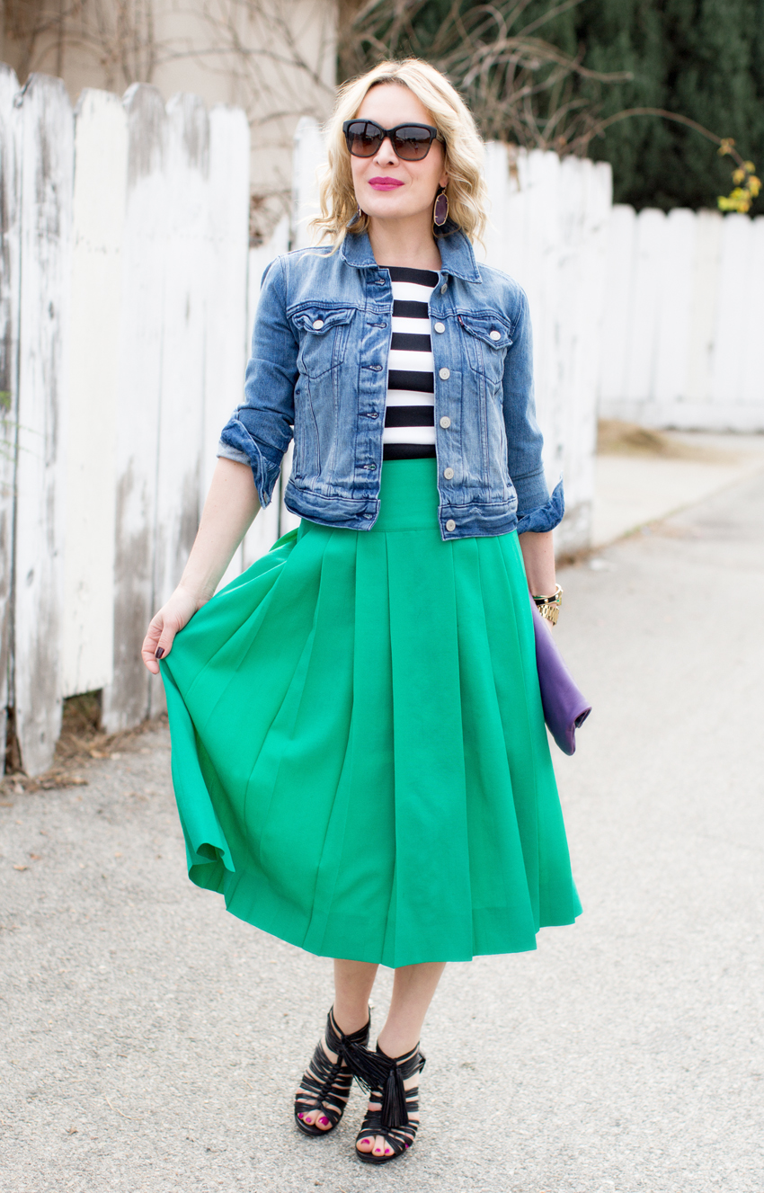denim and green 6
