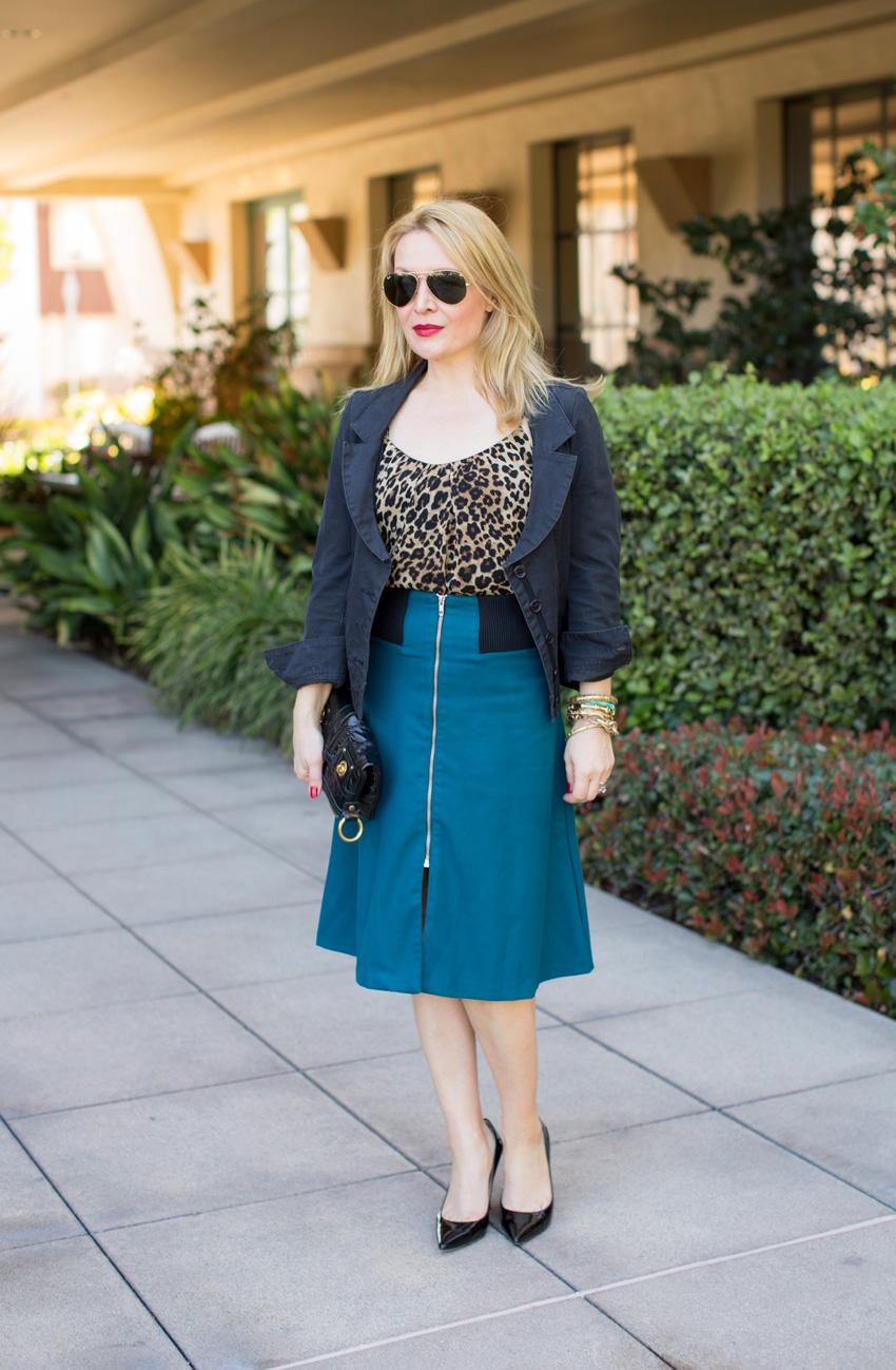 teal leopard 1