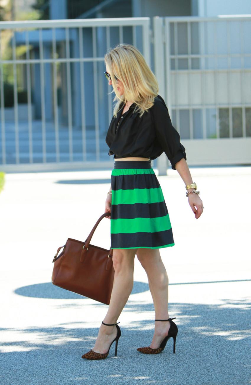 green stripes 4