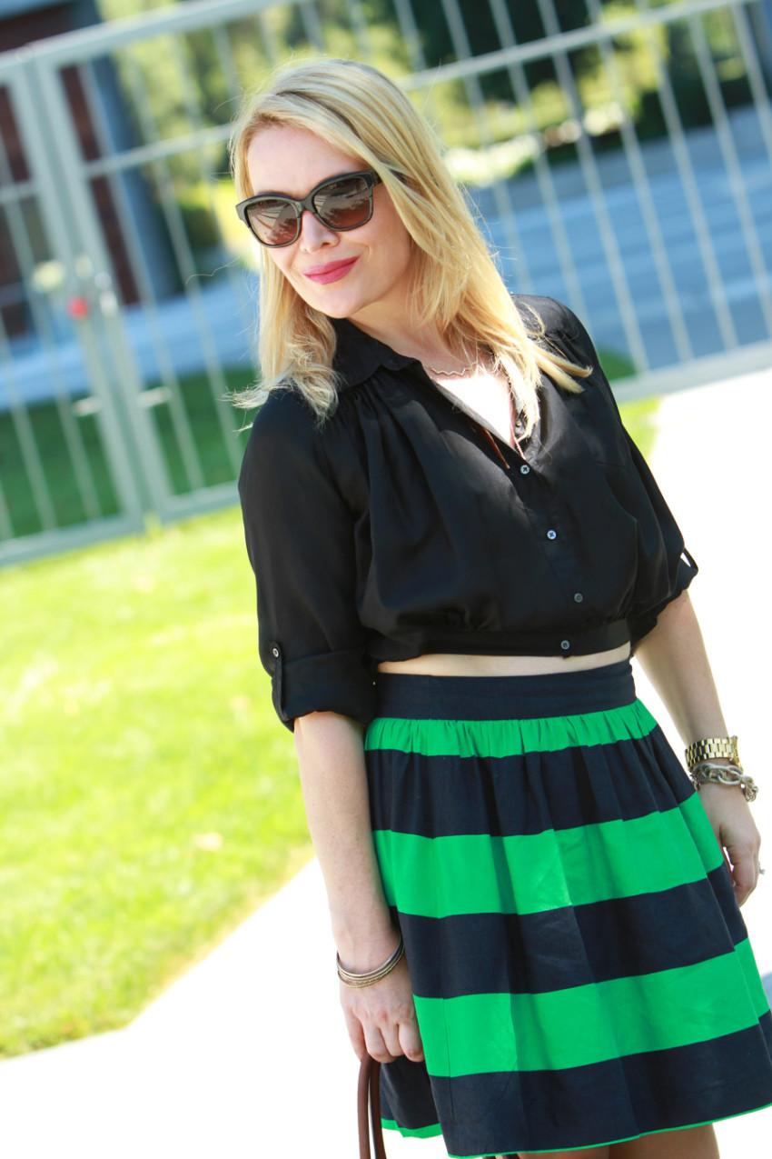 green stripes 5