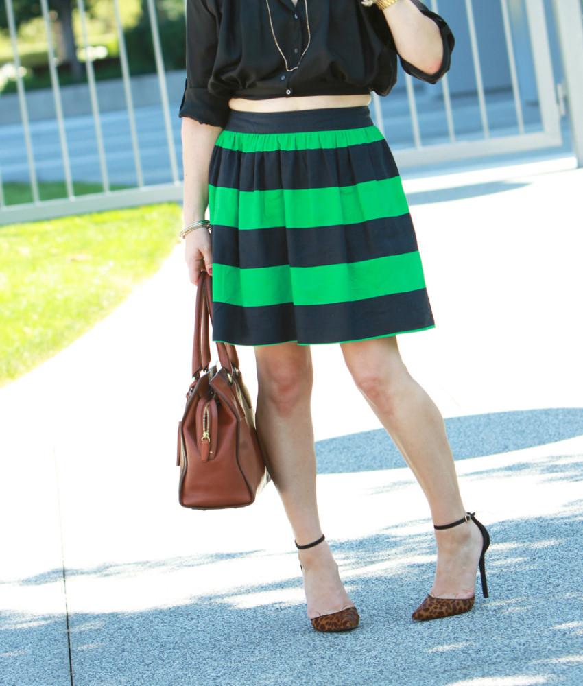 green stripes 6