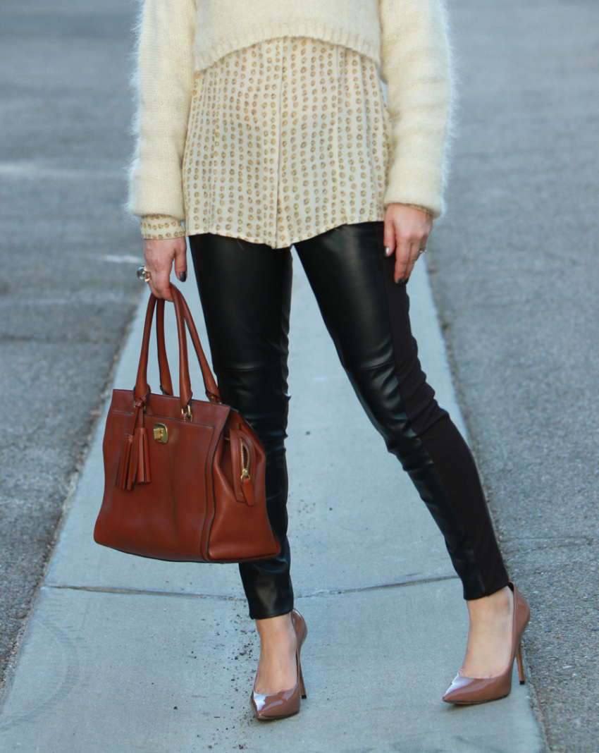 sweater leather 5