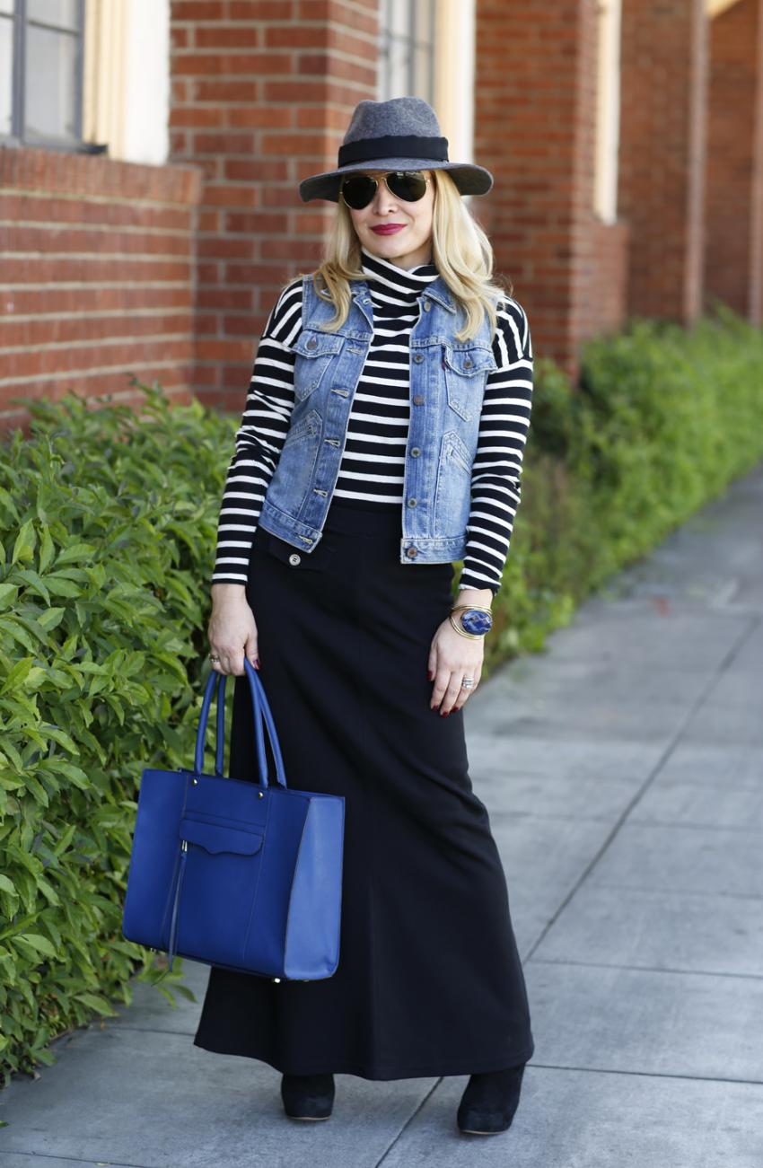 blue stripes 7