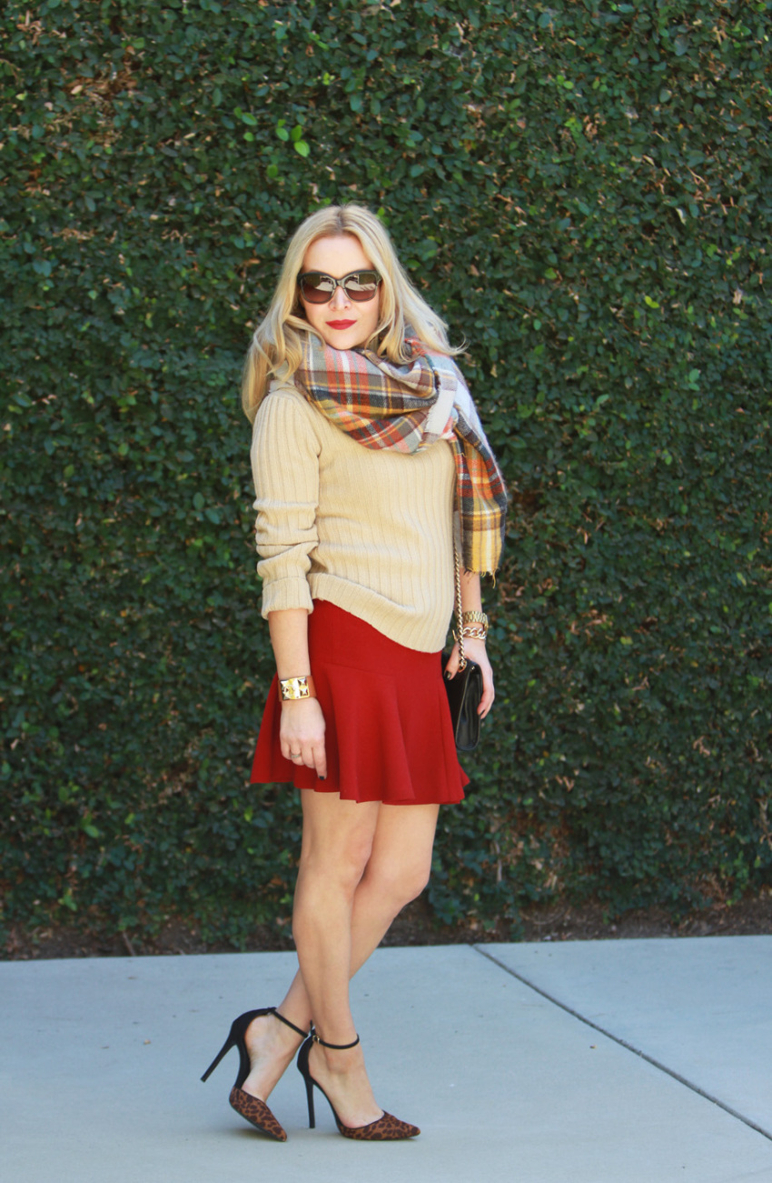 red scarf 5