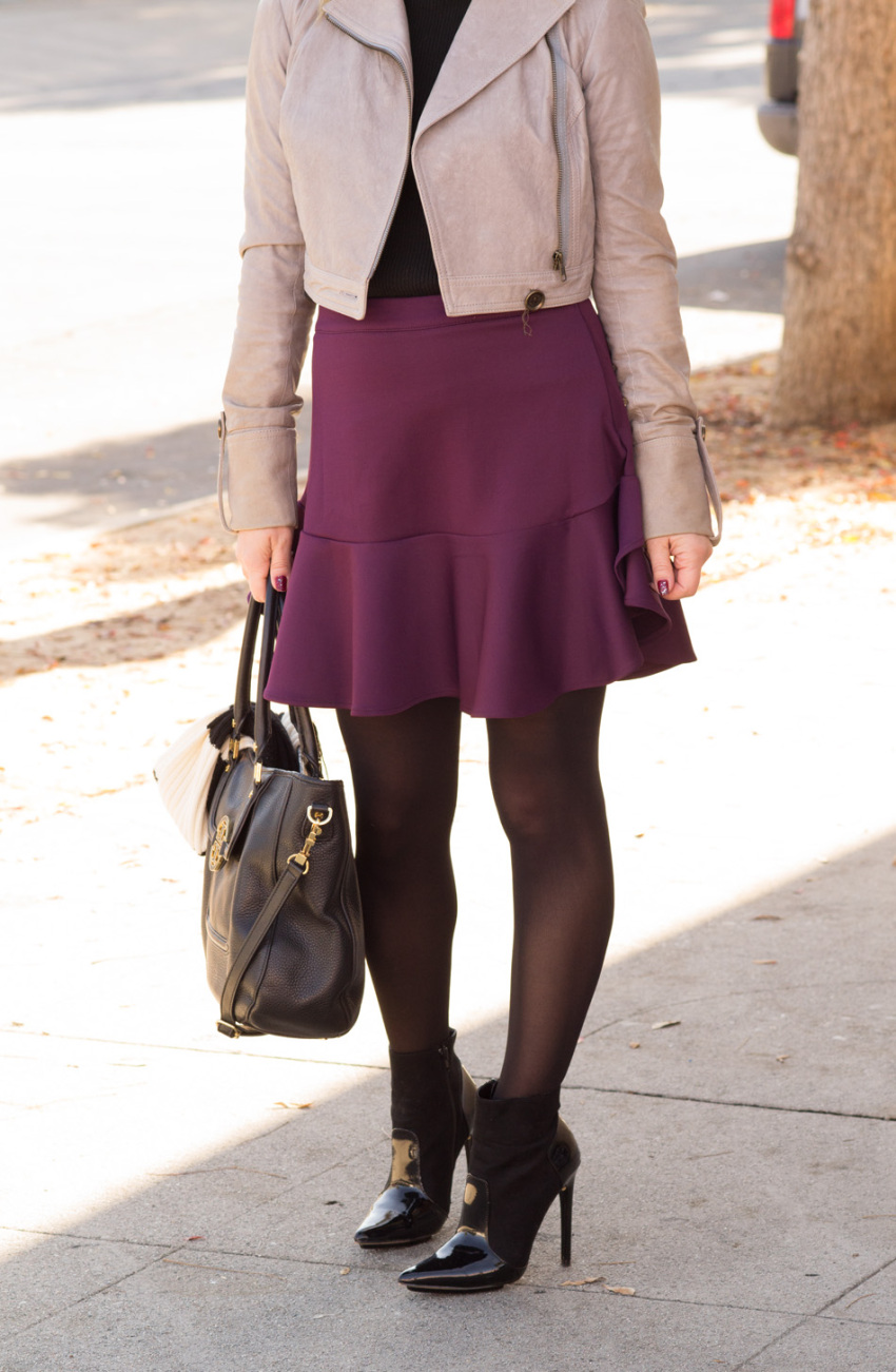 Purple skirt 2