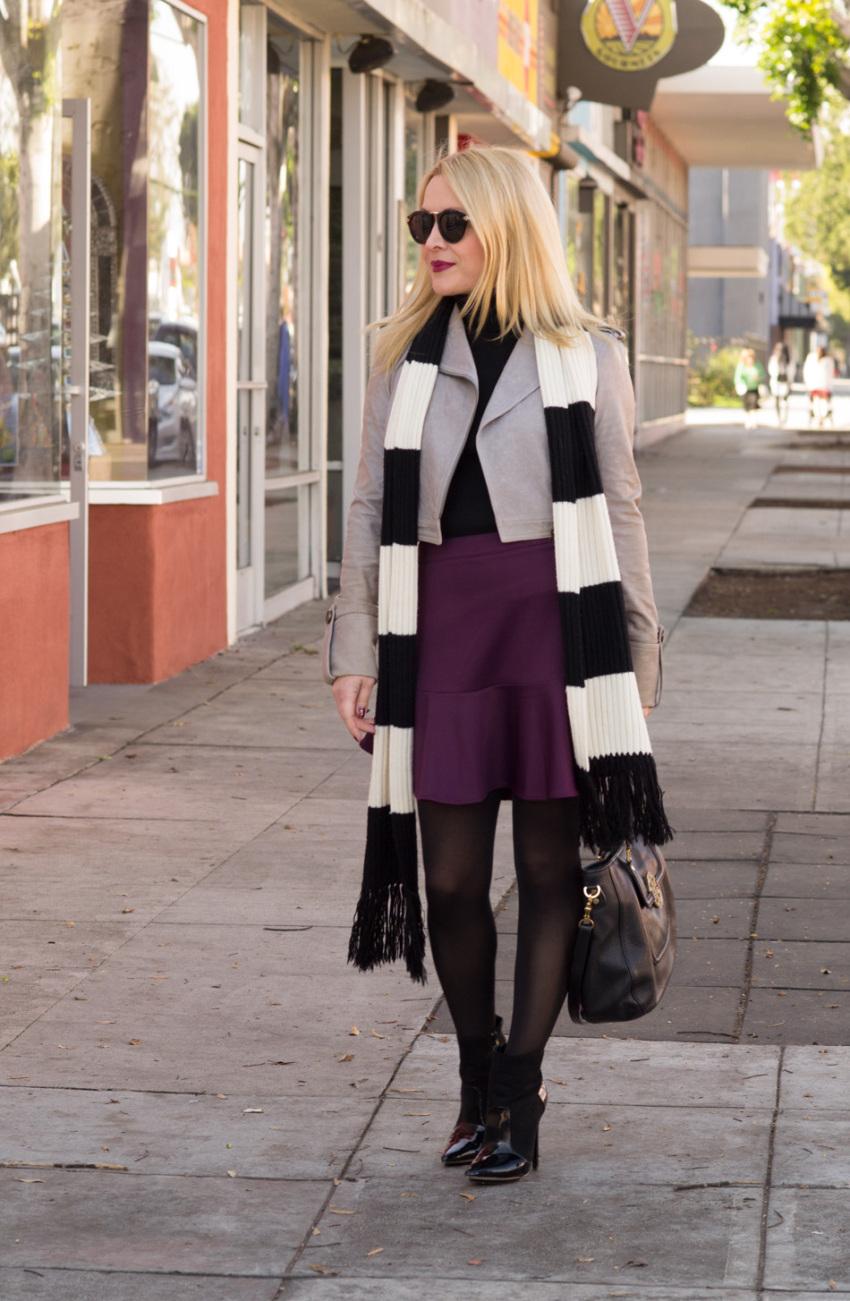 purple skirt 1