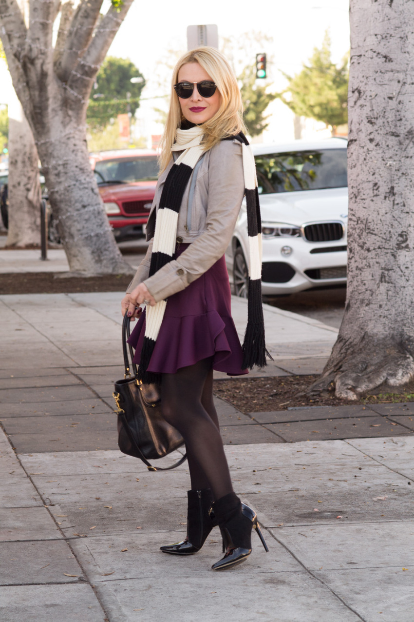 purple skirt 4