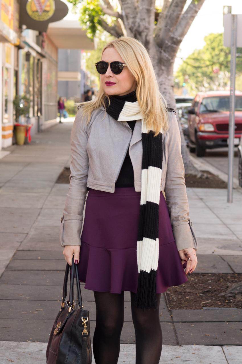 purple skirt 5