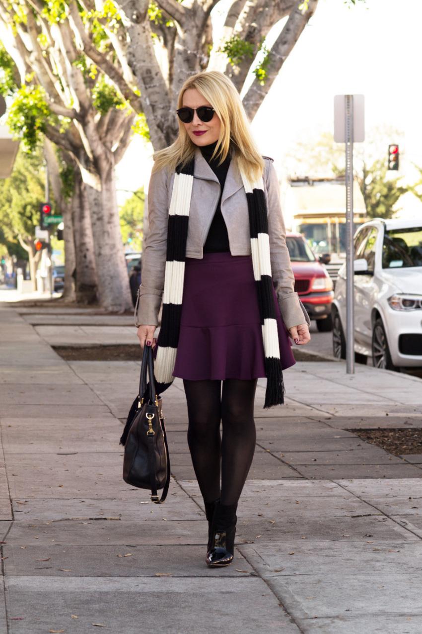 purple skirt 7