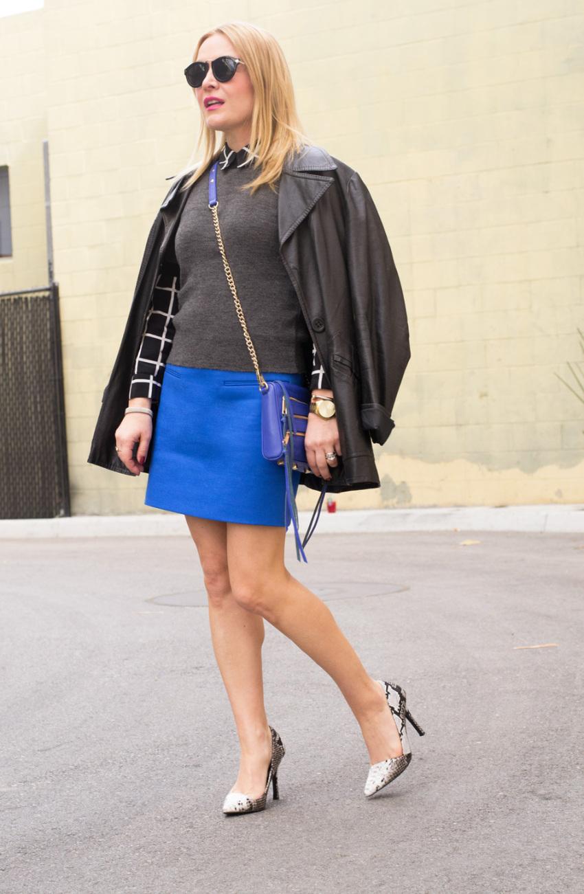 cobalt skirt 1