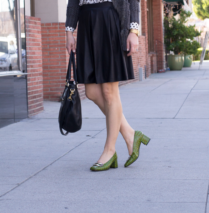 green shoes 8