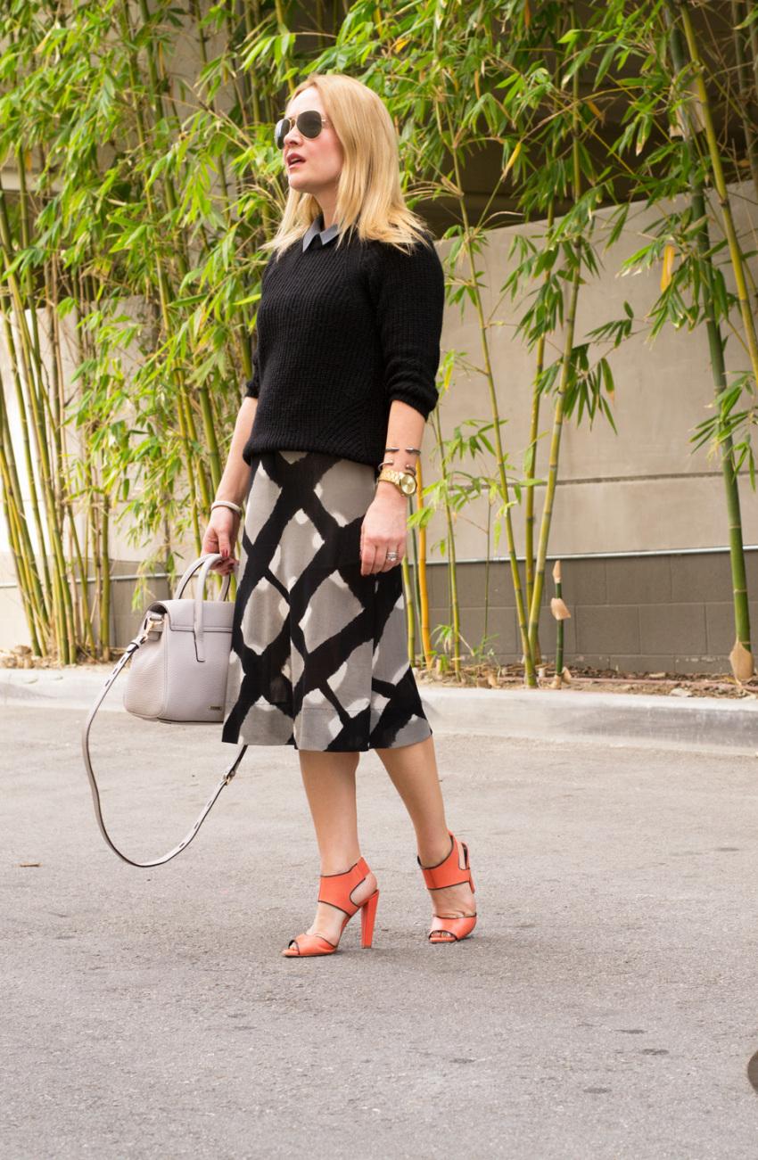 orange heels 6