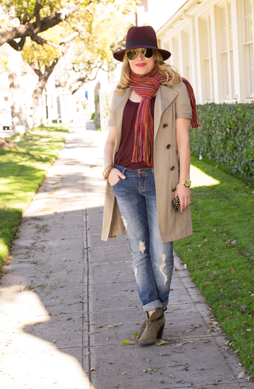 trench jeans 1