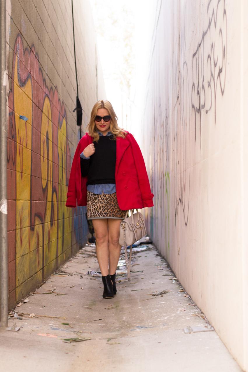 leopard skirt 1