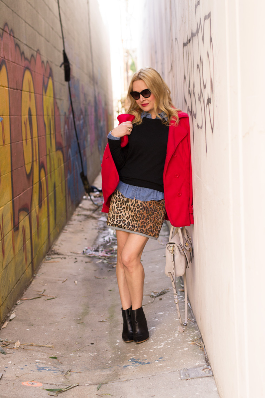 leopard skirt 3