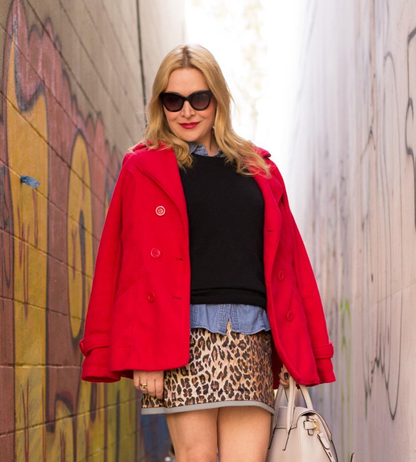 leopard skirt 4
