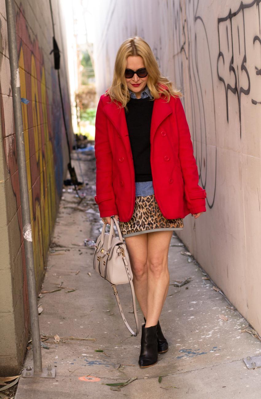 leopard skirt 5