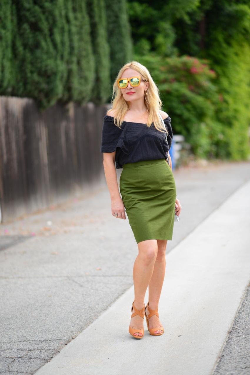 green skirt 4