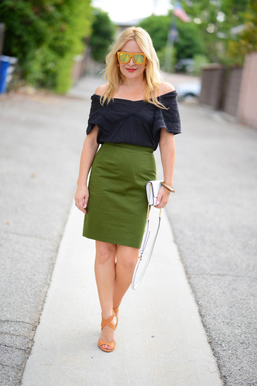 green skirt 6