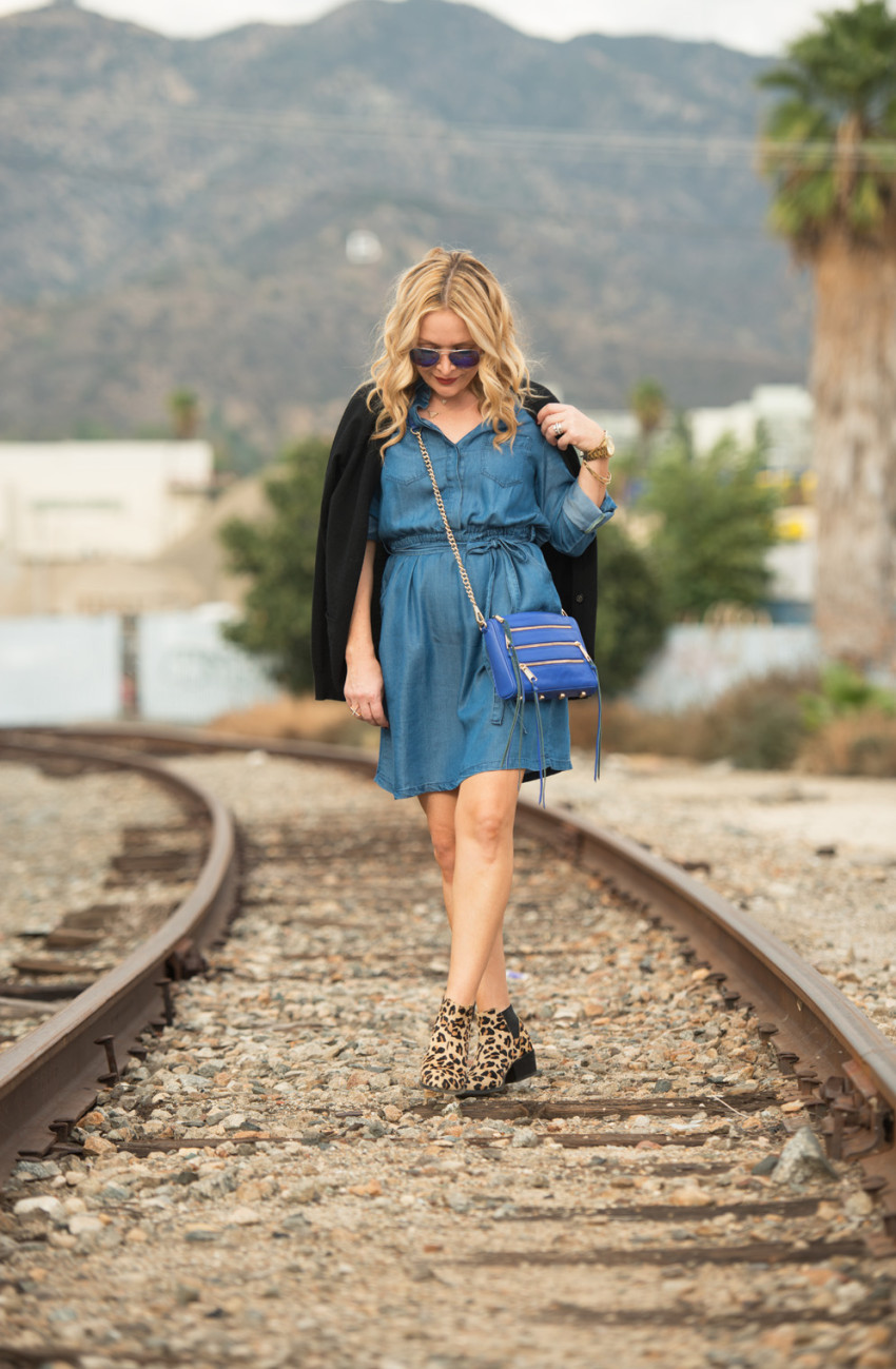 denim dress 1