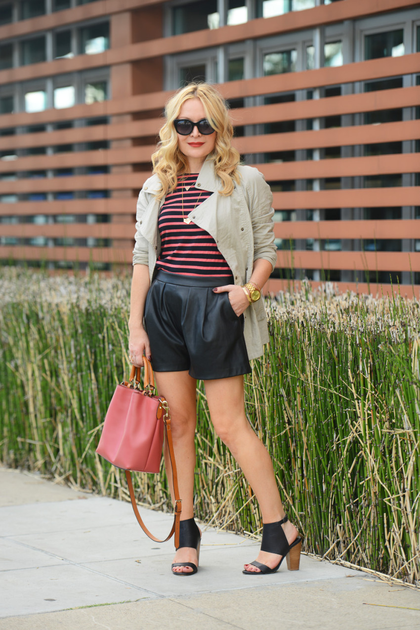 stripes & trench 4