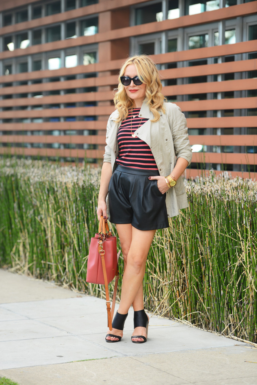 stripes & trench 8