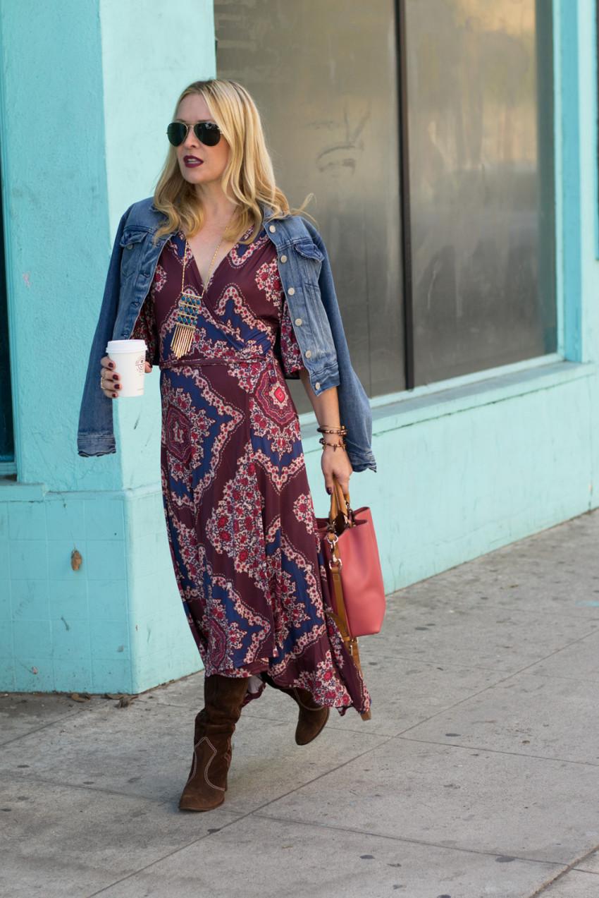 paisley dress 3