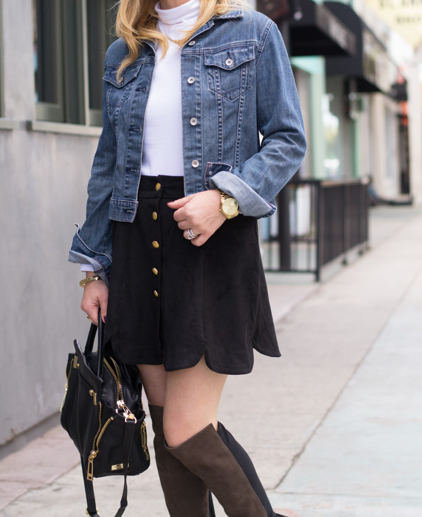 suede skirt 4