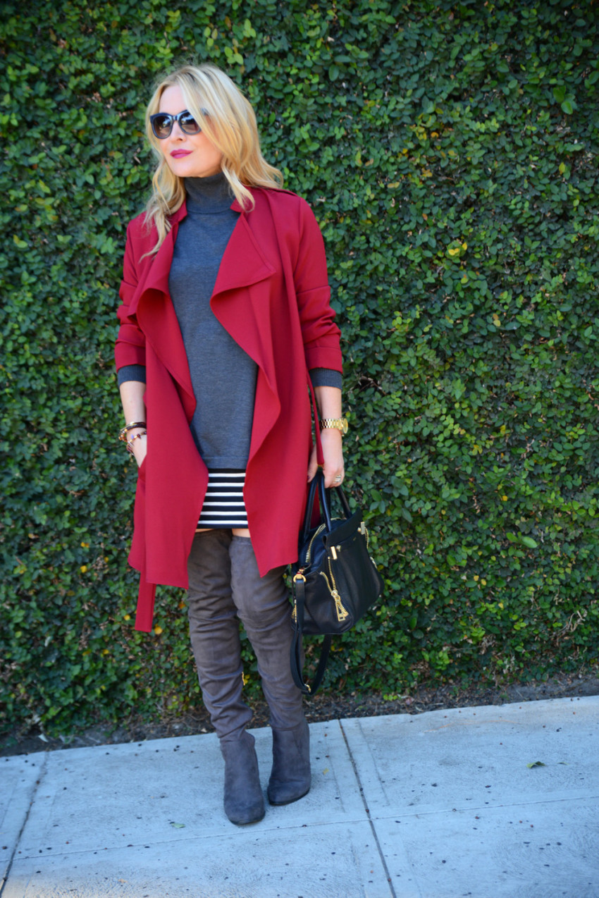 red trench coat 1