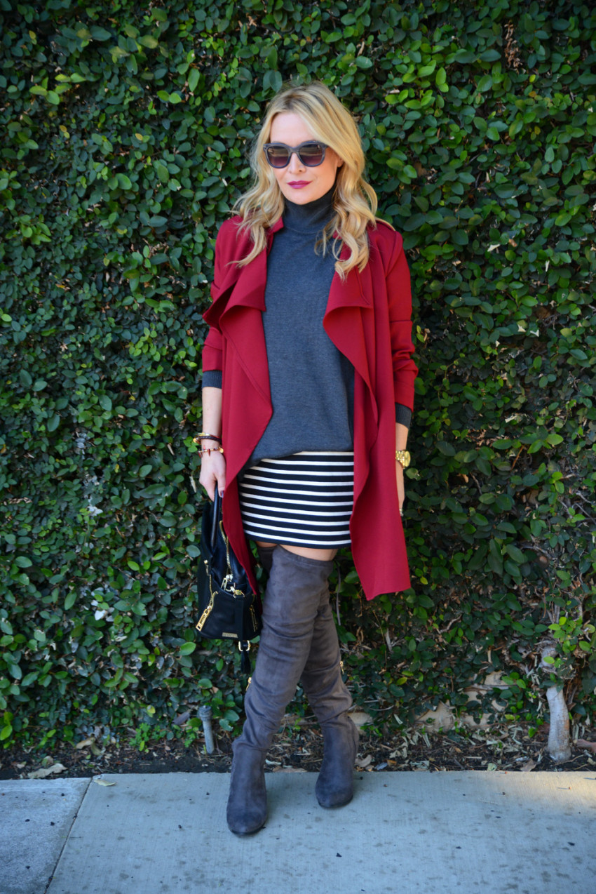 red trench coat 2