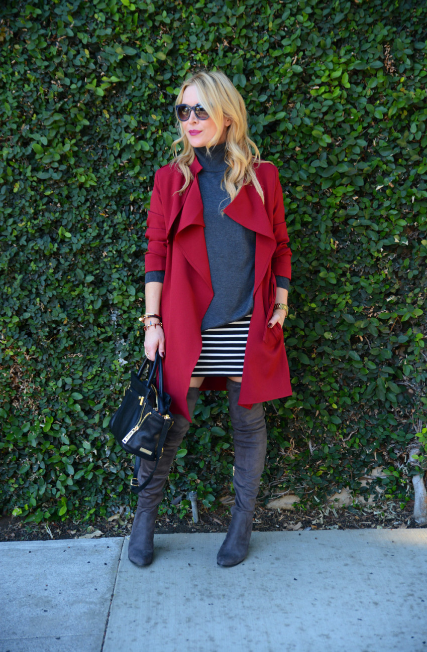 red trench coat 3