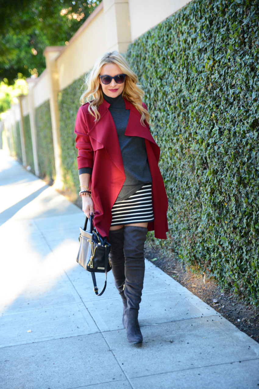 red trench coat 4