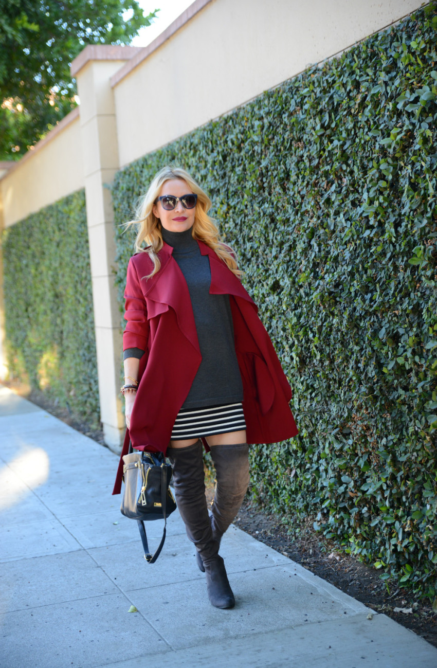 red trench coat 5