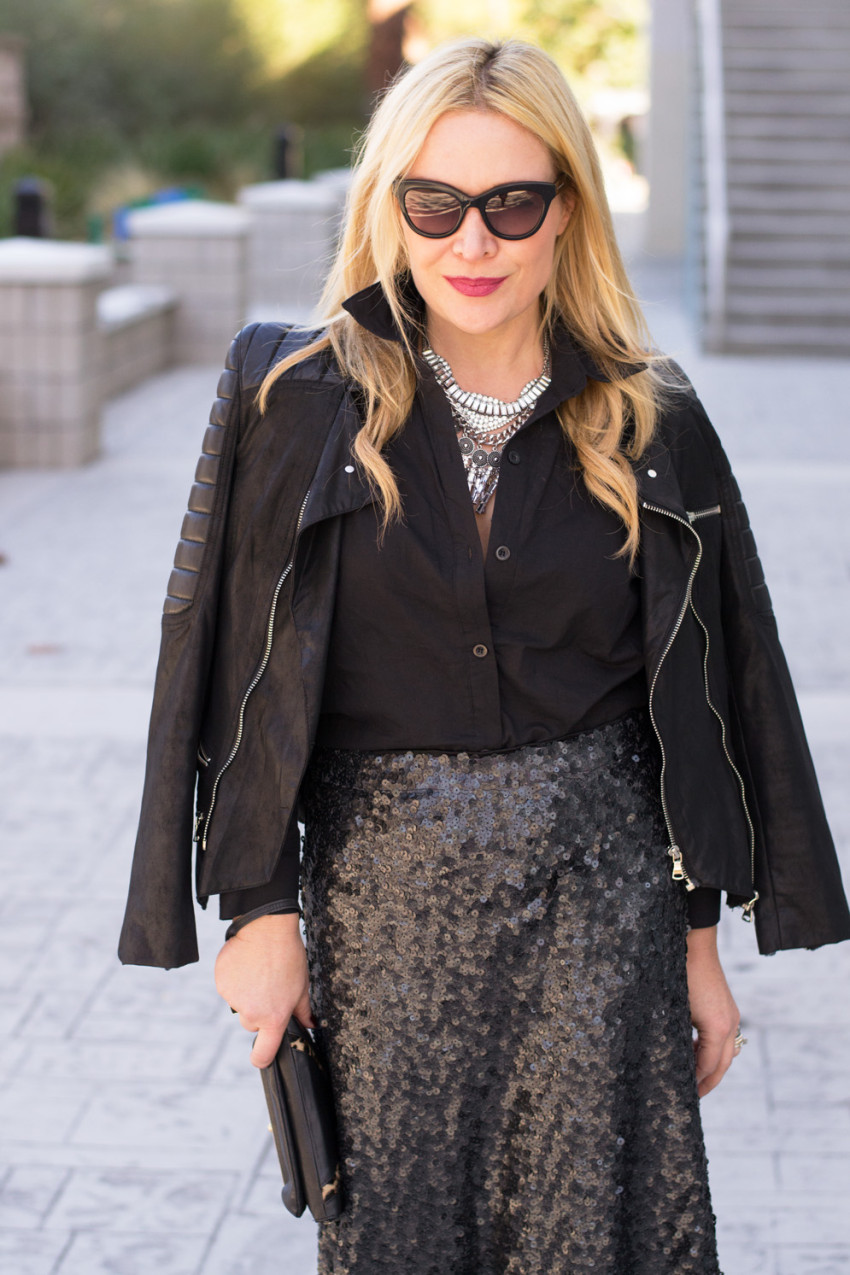 sequins & leather 8