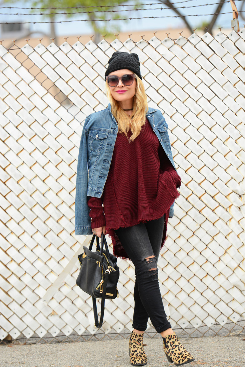 cold shoulder sweater 7