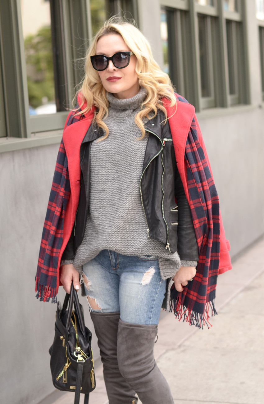 plaid and layers 1
