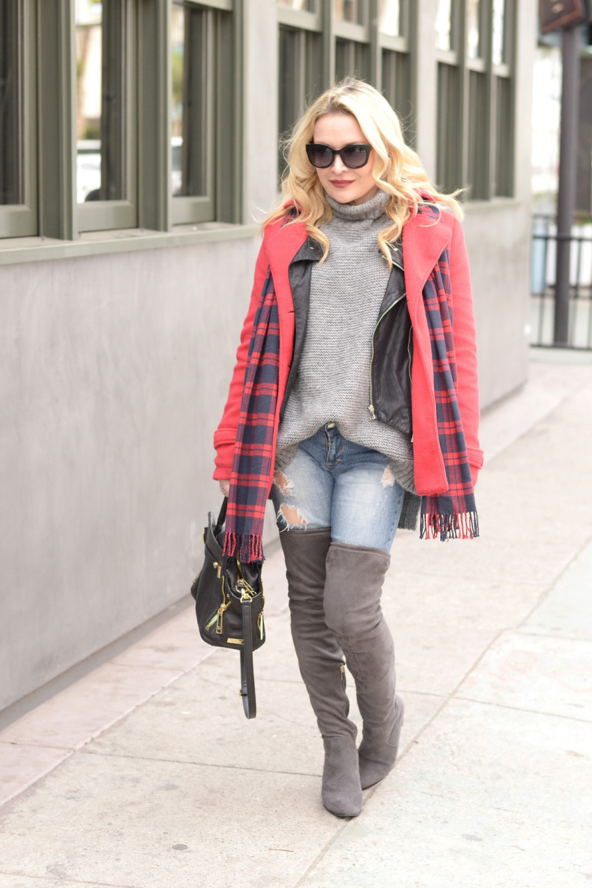 plaid and layers 5