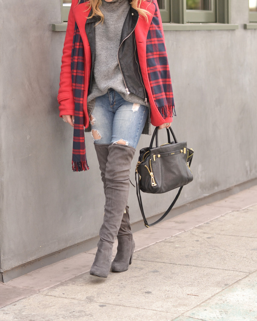 plaid and layers 8