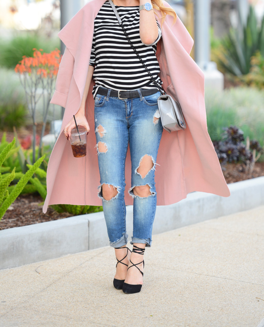 Pink Trench Coat 6