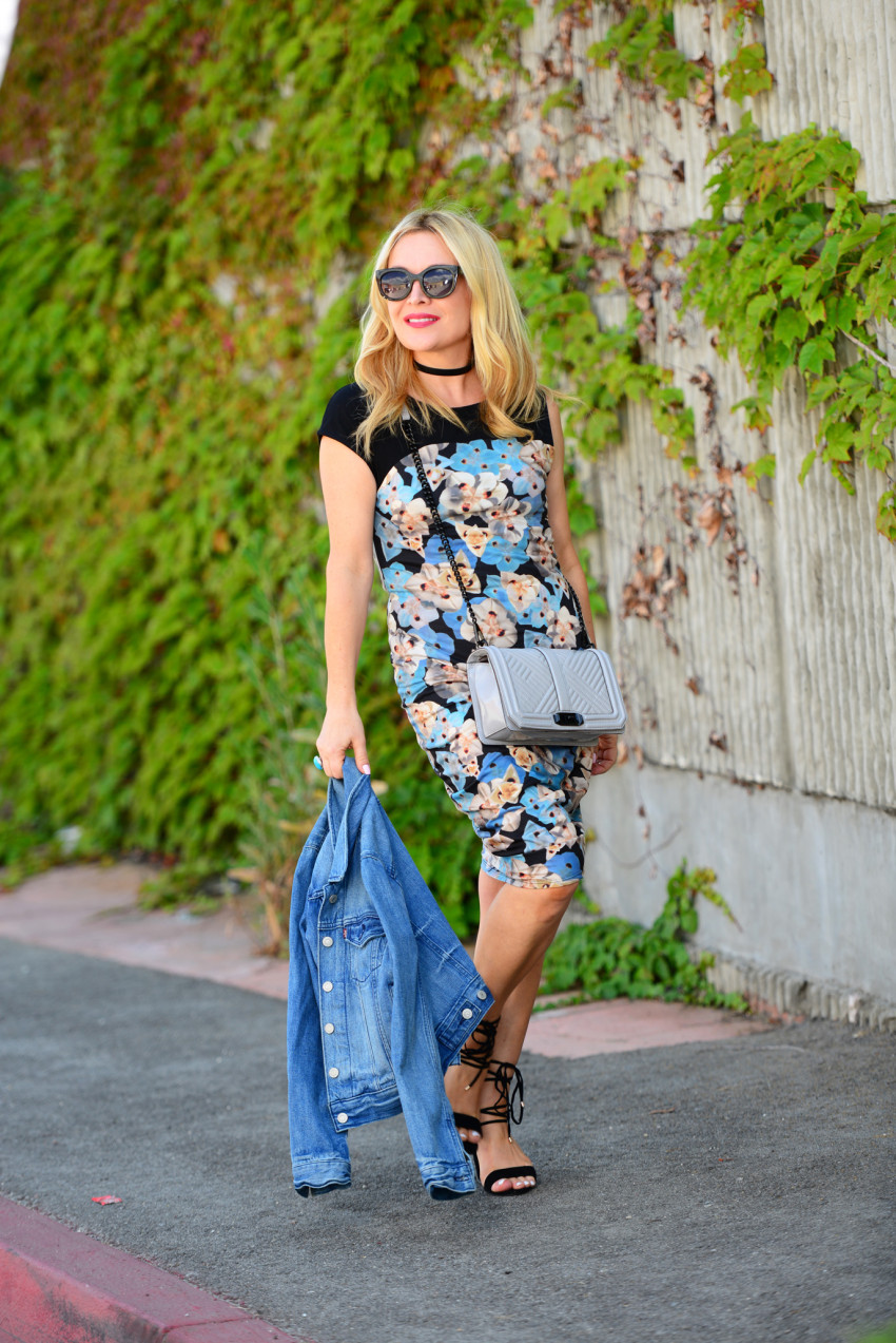 blue floral dress 5