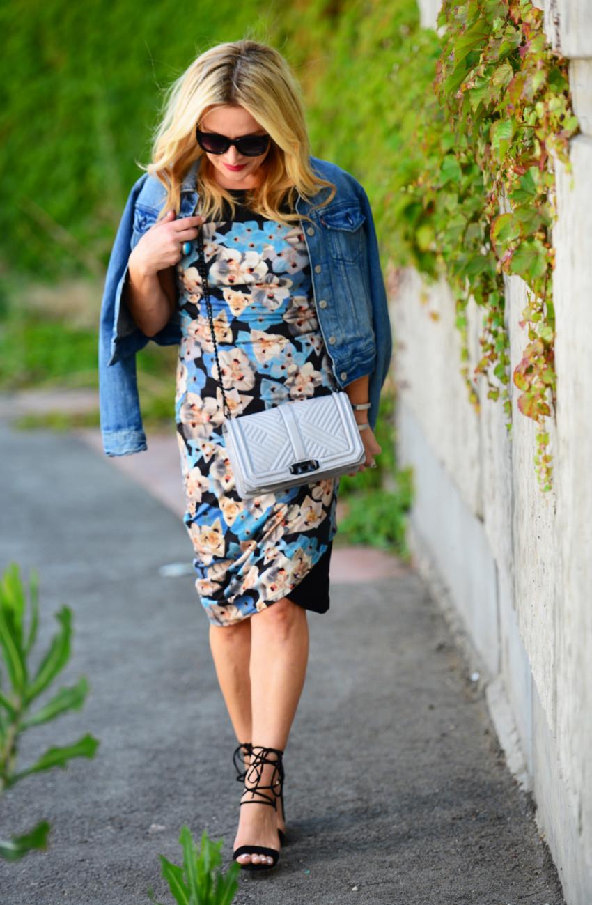 blue floral dress 6