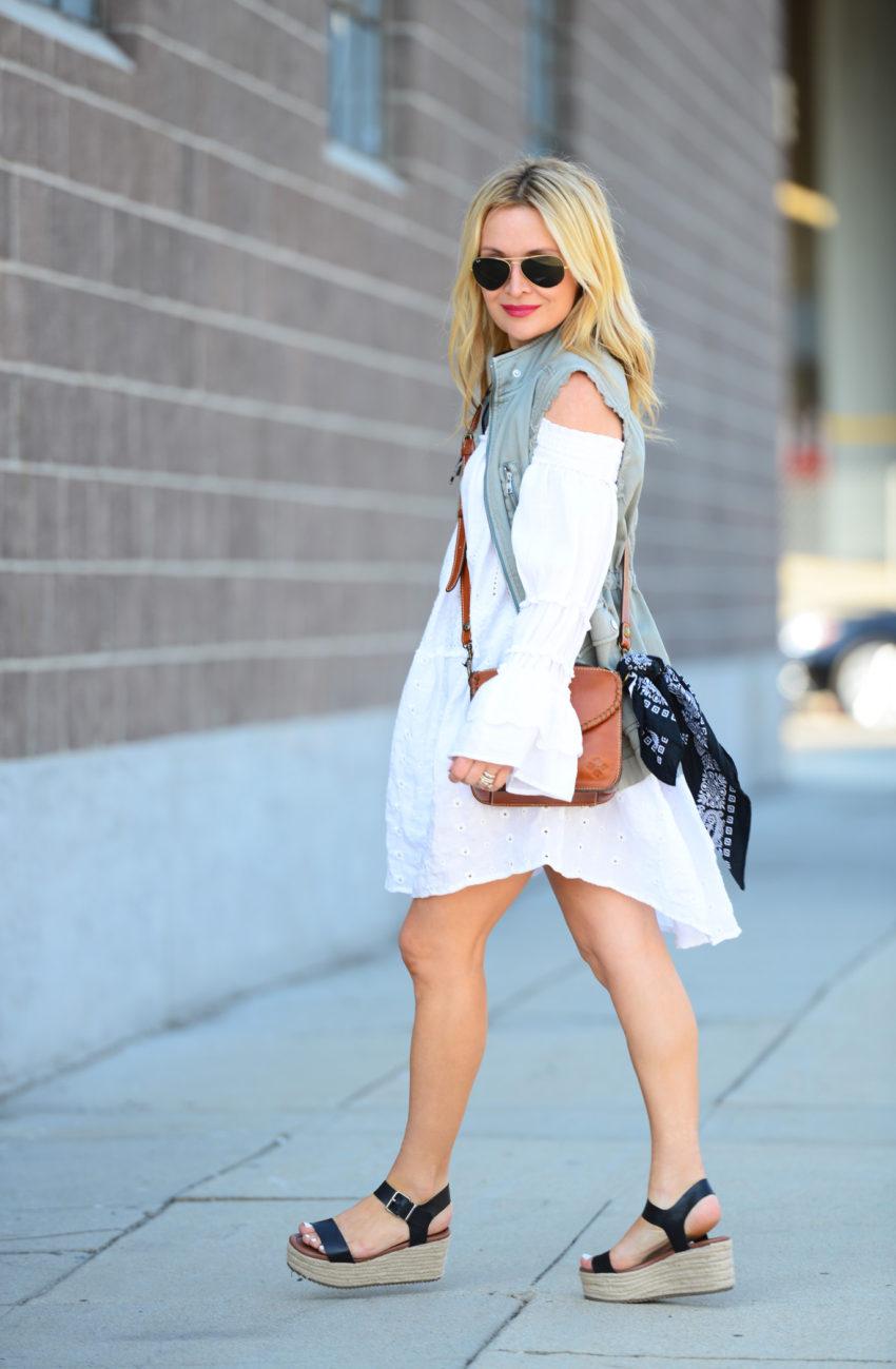 white eyelet dress 3