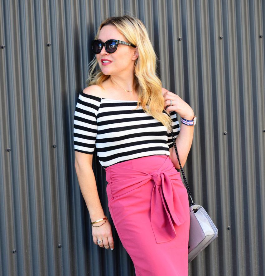 pink pencil skirt 5