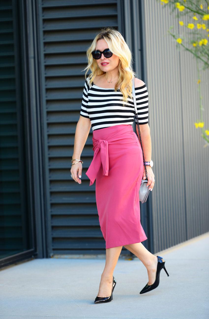 pink pencil skirt 7