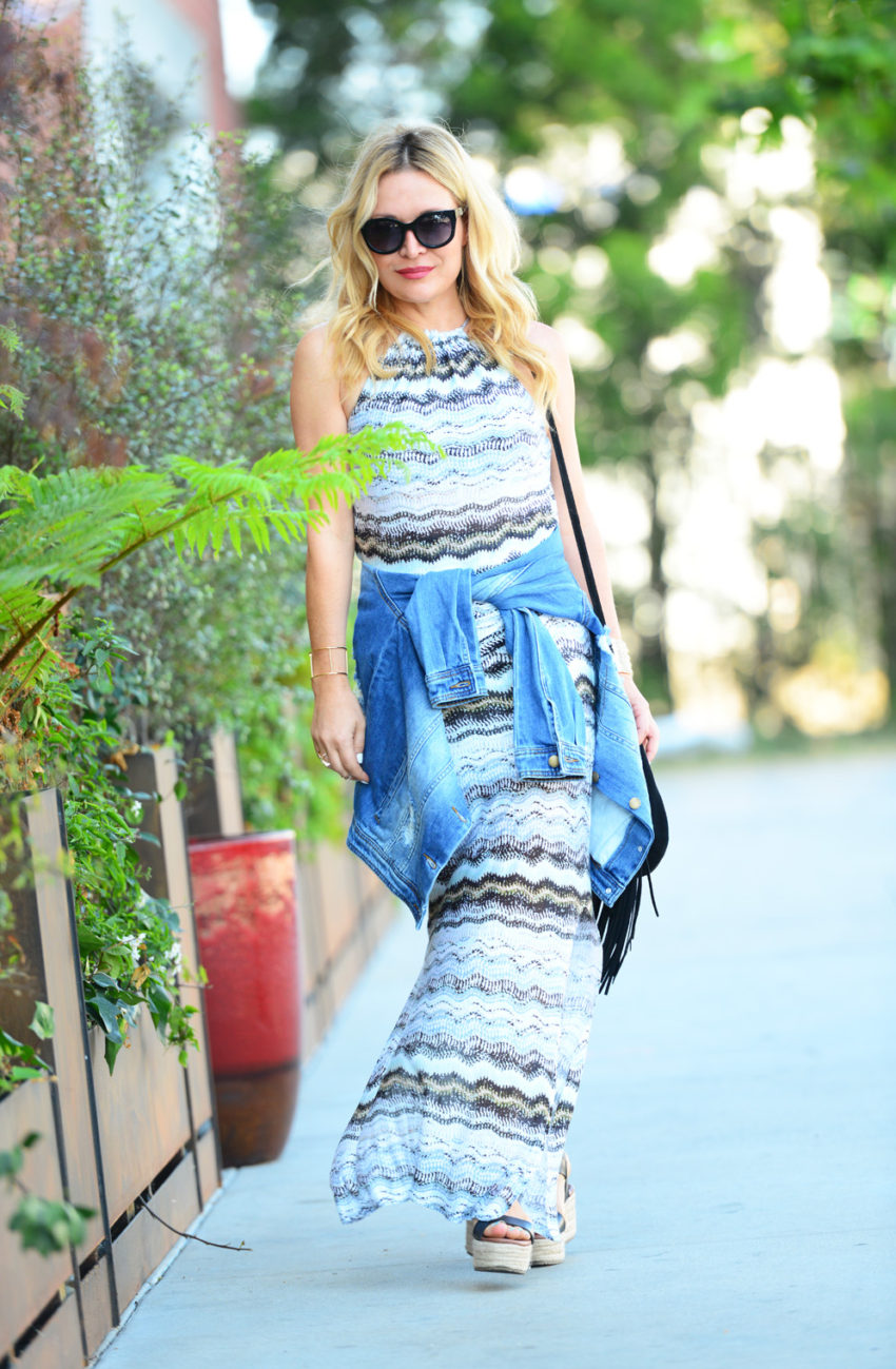 vacay dress 1 | Vacaystyle maxi dress featured by popular Los Angeles fashion blogger, The Hunter Collector