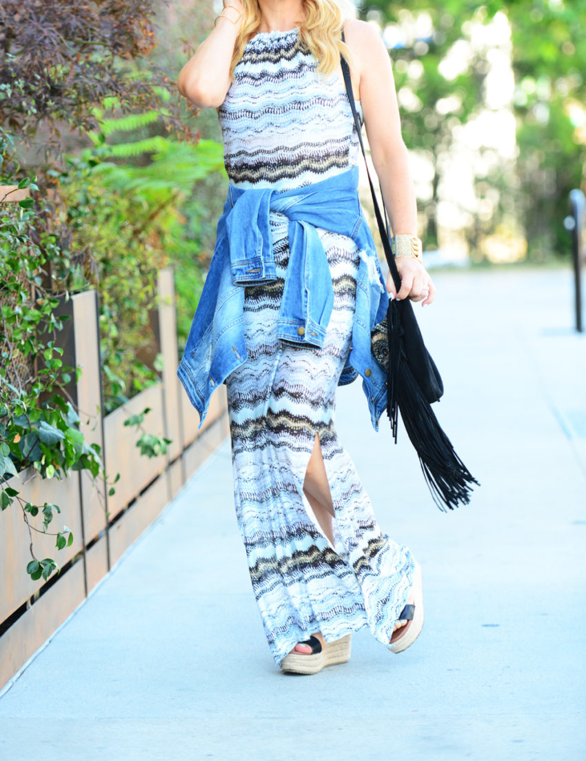 vacay dress 6 | Vacaystyle maxi dress featured by popular Los Angeles fashion blogger, The Hunter Collector