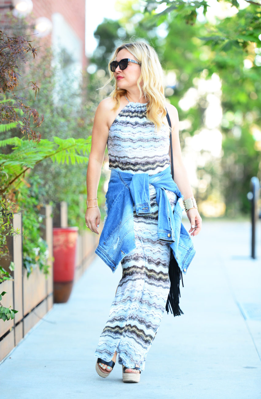 vacay dress 7 | Vacaystyle maxi dress featured by popular Los Angeles fashion blogger, The Hunter Collector