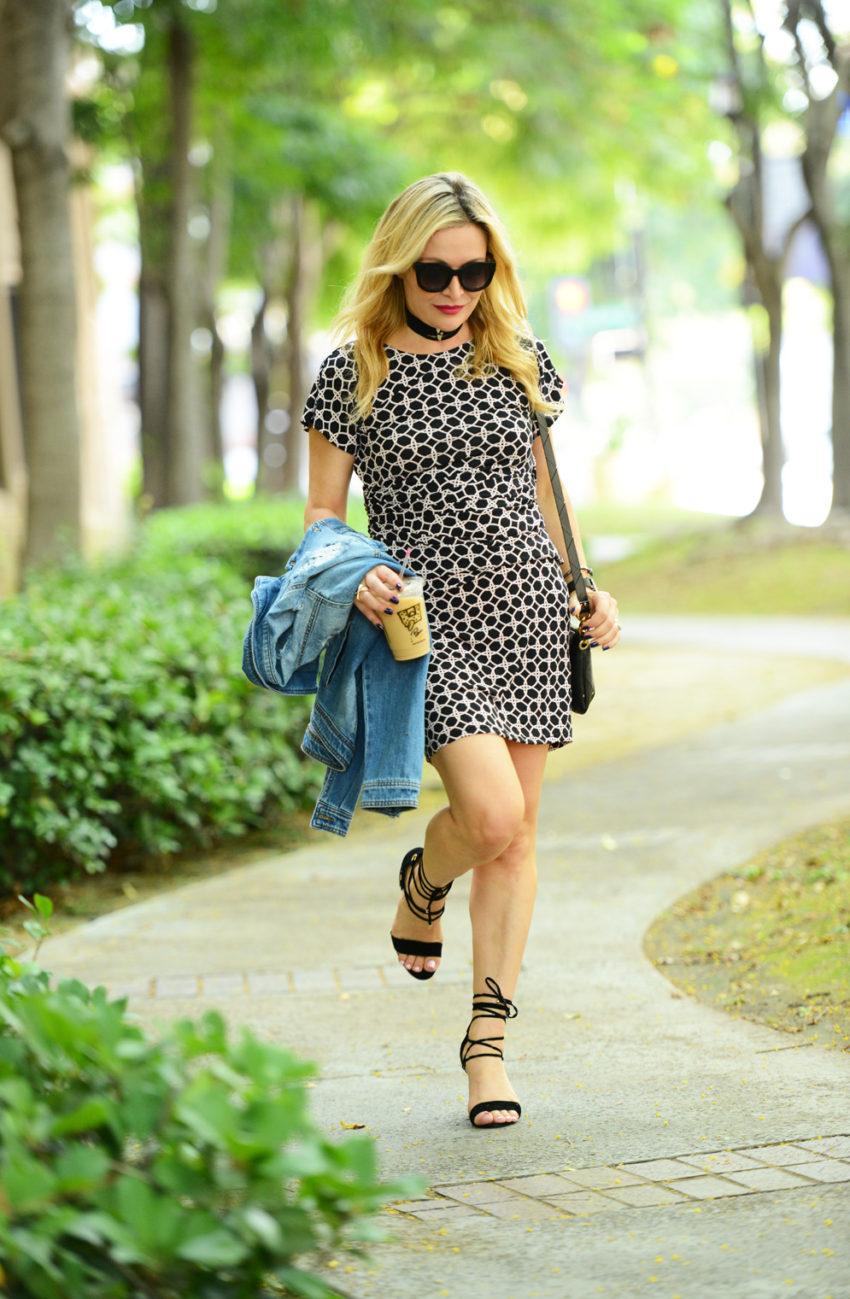 Leota Print Dress 2